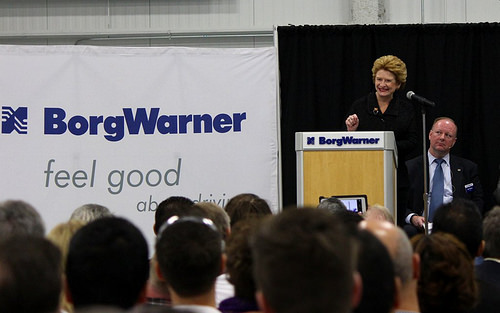 Senator Stabenow Delivers Remarks at Grand Opening of BorgWarner Powertrain Technical Center